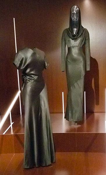 Black slinky dreses