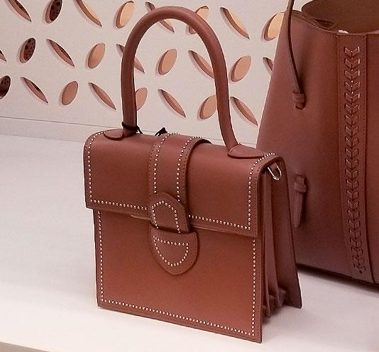 Alaia studded spring handbag