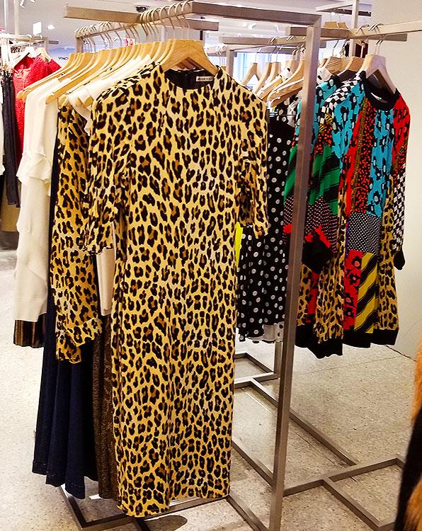 Animal print dresses in NYC