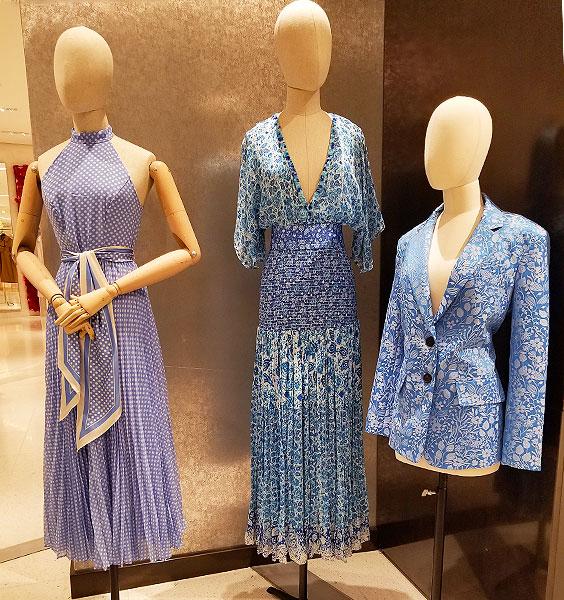 Blue Print dresses