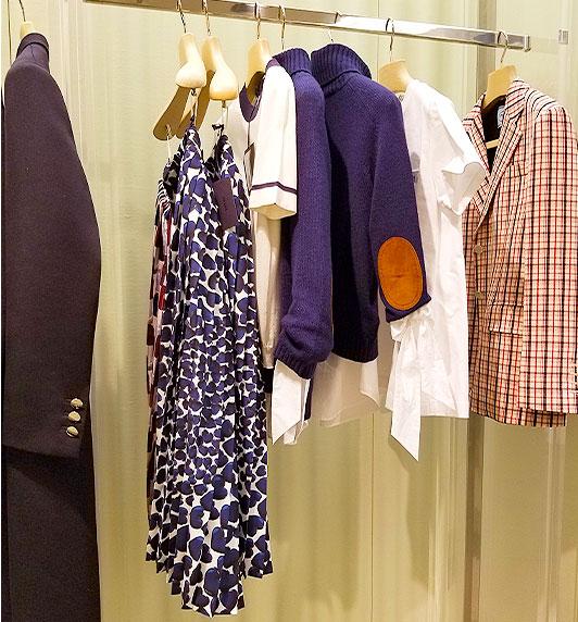 Marni navy clothing