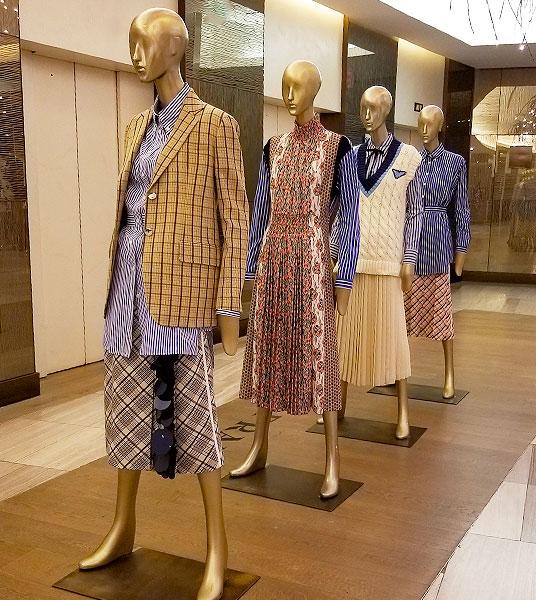 Prada spring line up
