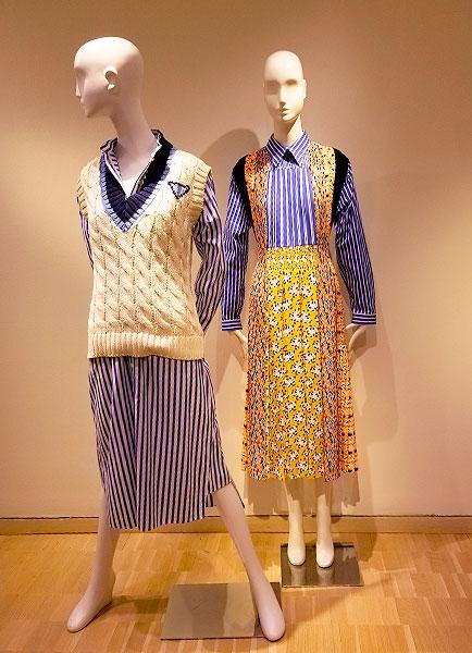 Prada Blue outfits for spring