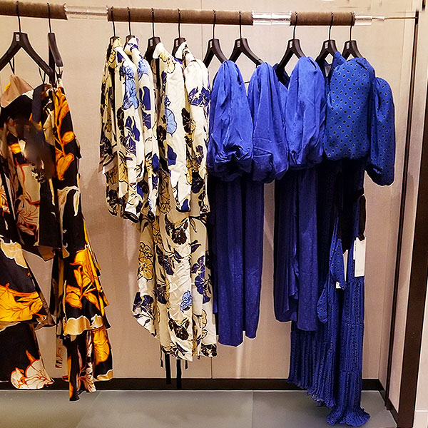 Bold Blue prints dresses