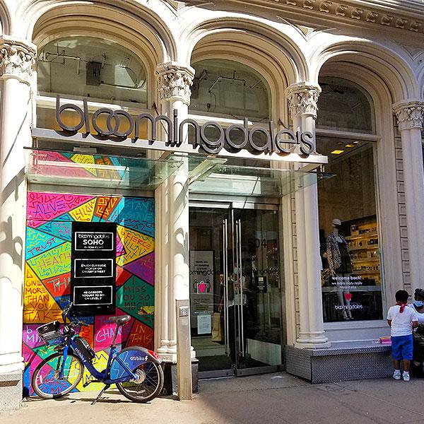 Soho Bloomingdale store
