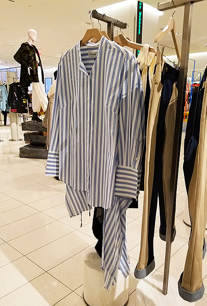 Clean new stripes for spring