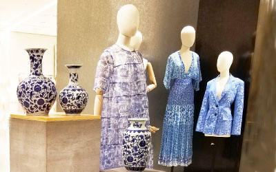 Blue is the Color You Want to Wear For Spring.