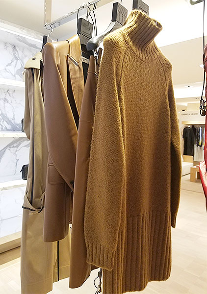 Camel benefits for fall knits