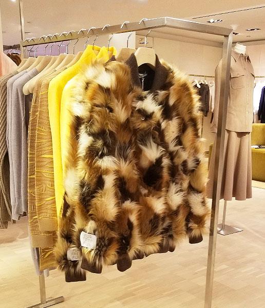 Neutral faux fur benefits