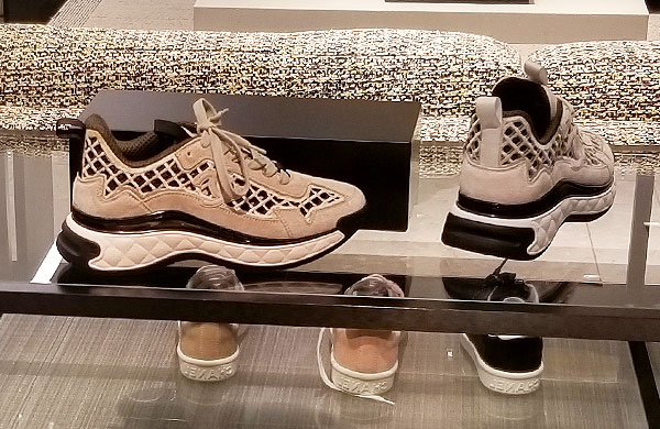 Chanel summer trainers