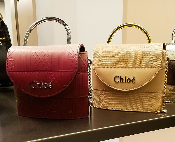 Chloe small handle spring bag