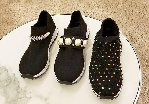 Choo decorated kicks