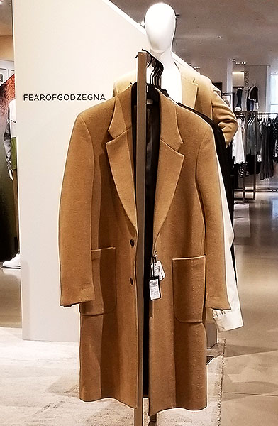 A Perfect camel coat for men and women
