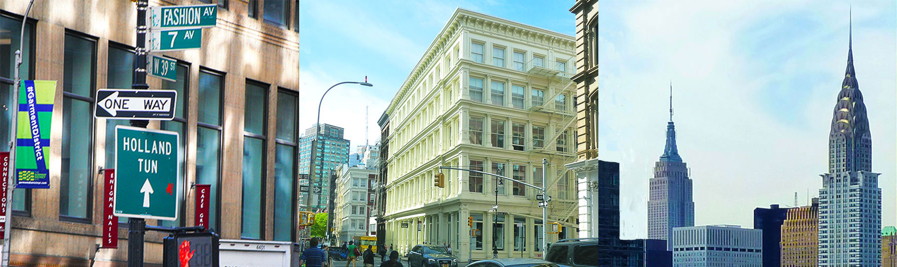 Private Shopping tours take you to the Garment center, Soho and Midtown