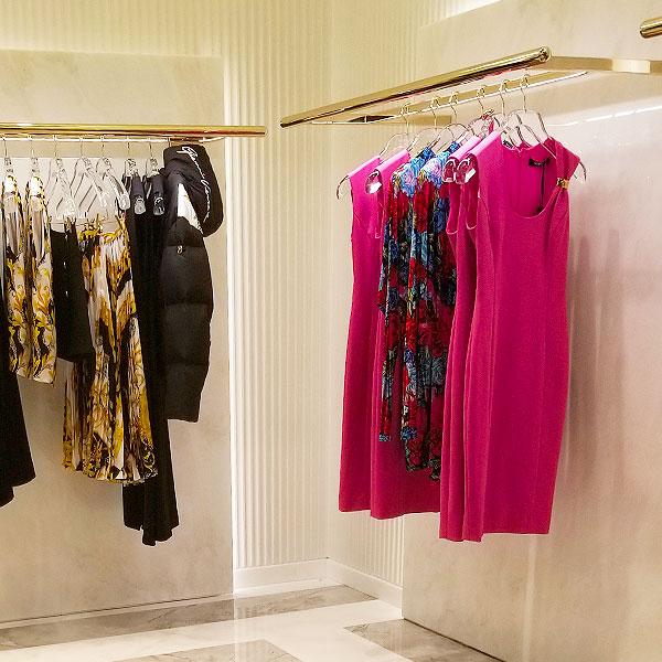 Versace pink dresses