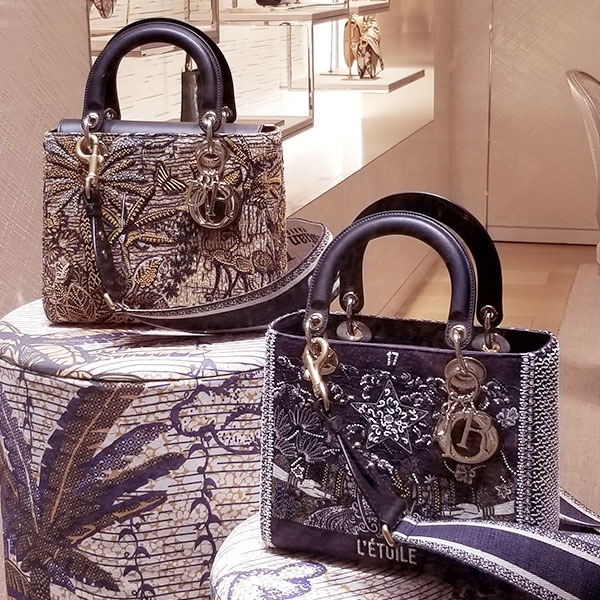 Dior spring structured bags