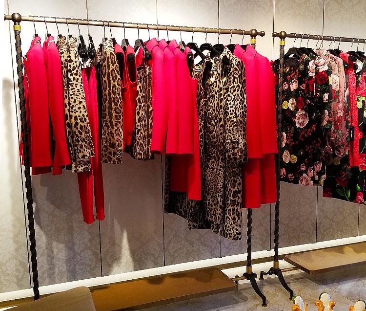 Dolce Gabbana animal print clothing