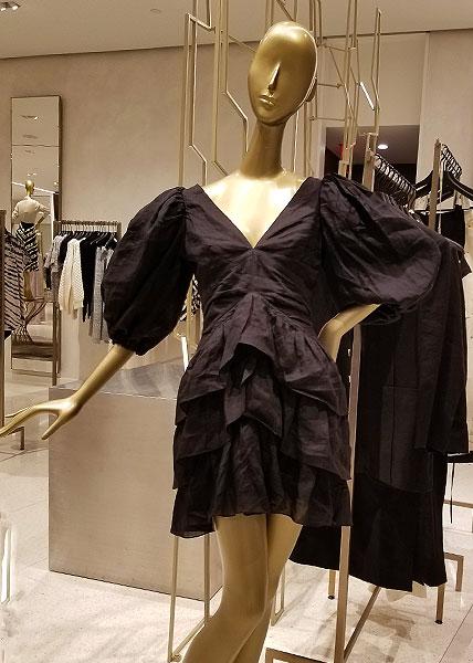 Flaunt black clothing