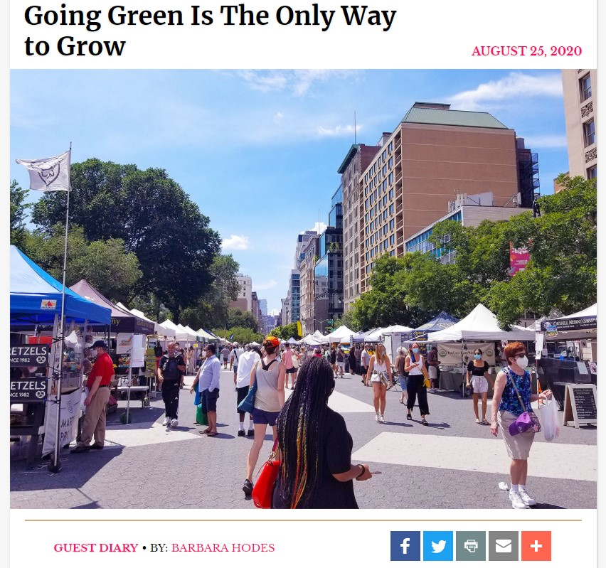 Greenmarkets in New York City
