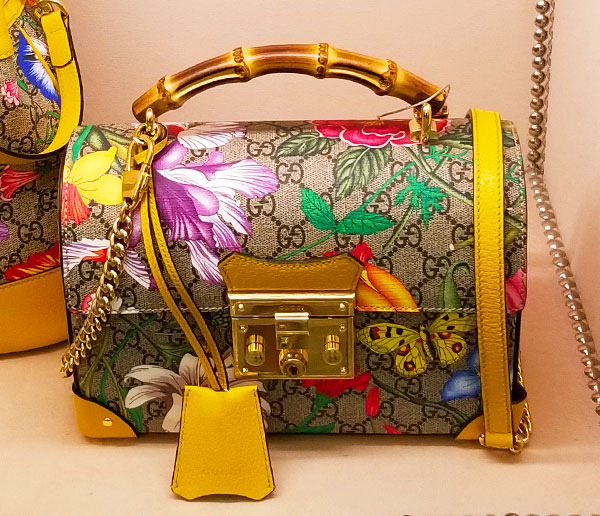 Gucci Bamboo handle spring bag