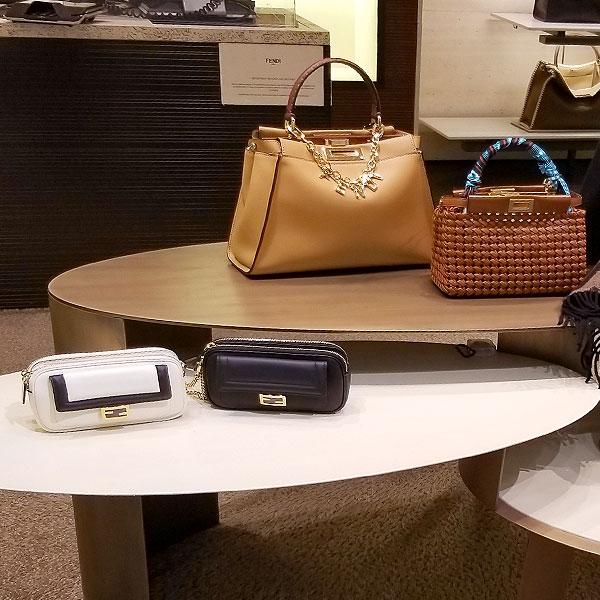 Trikmmed handbags
