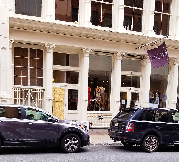 Intermix in Soho is reopening