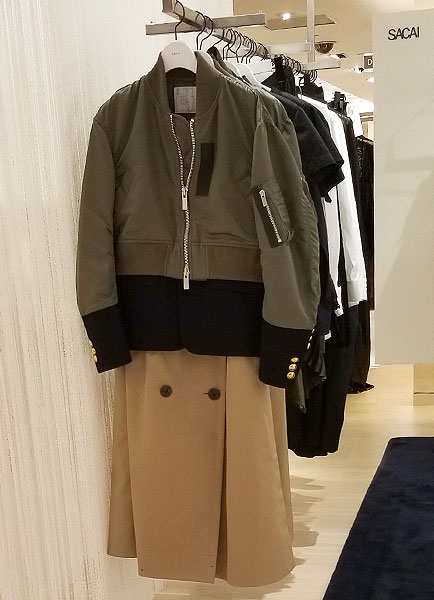 Khaki is Chic and sleek for fall