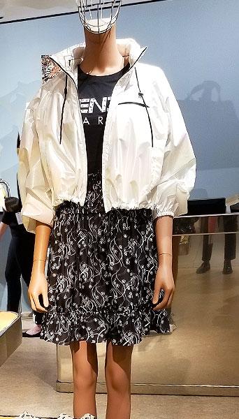 A White Kenzo Jacket