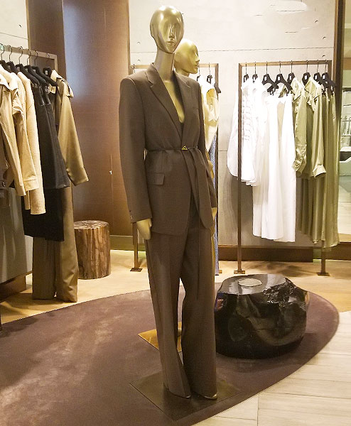 Bottega Veneta Khaki Suit