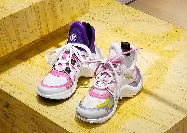 Vuitton sneaker heaven
