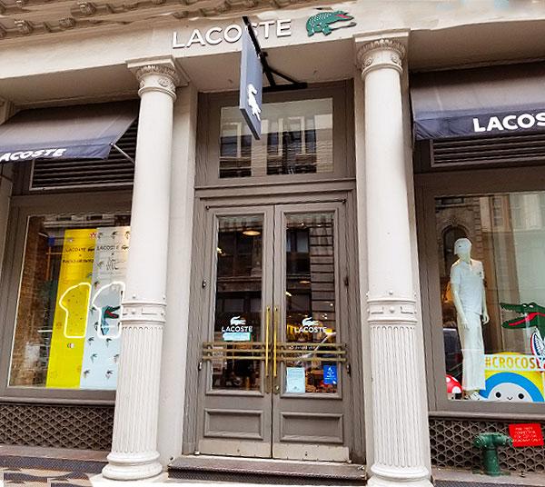 Lacoste Soho Store