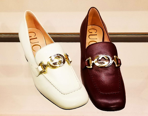 Spring loafers from Gucci