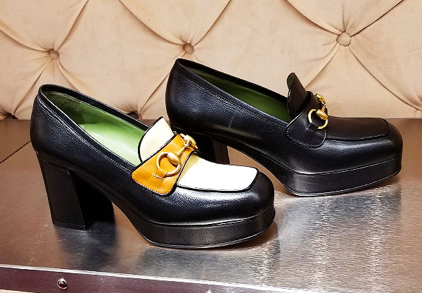 Gucci loafers with spring sole