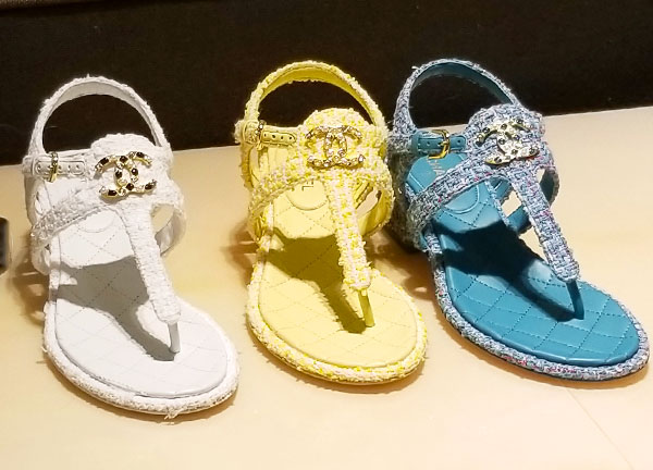 Chanel sandals for summers end