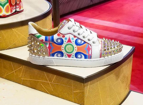 Lovely Louboutan sneakers