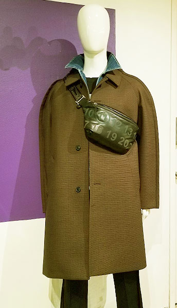 Make Militaray Green your new fall look in these Margiela items of clothing