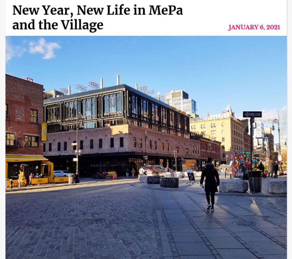 New York Social Dairy COlumn on Mepa