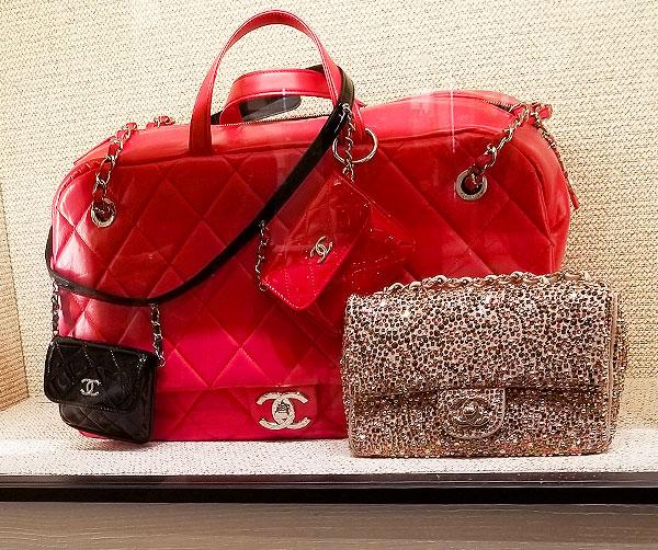 Chanel decorative mini bags