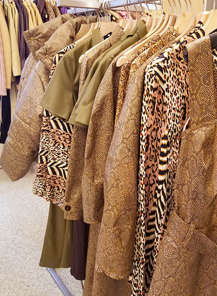 Animal print clothing in NYC