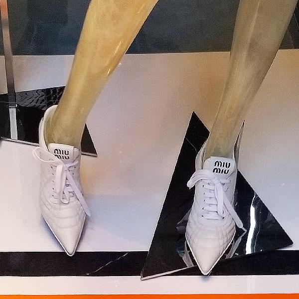 Miu Miu Sneaker slides