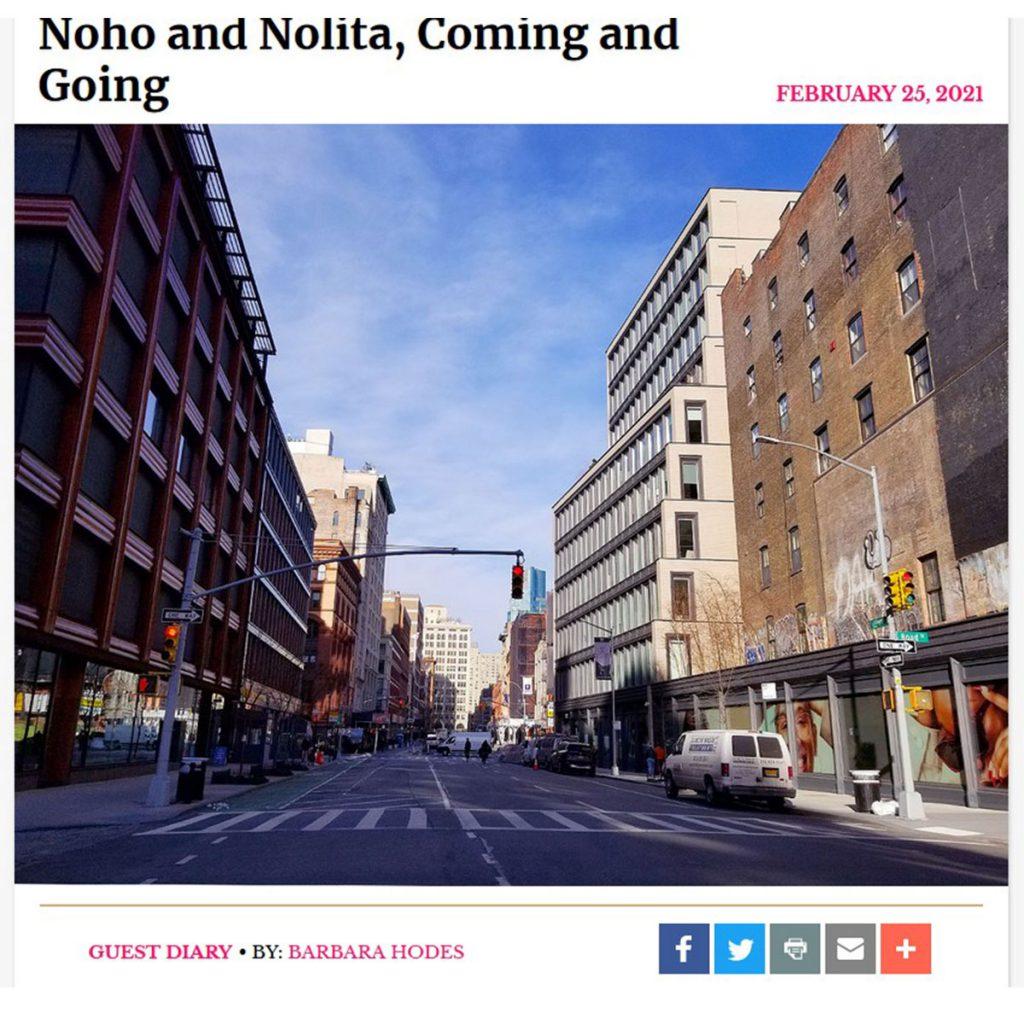 New York SOcial Diary Noho