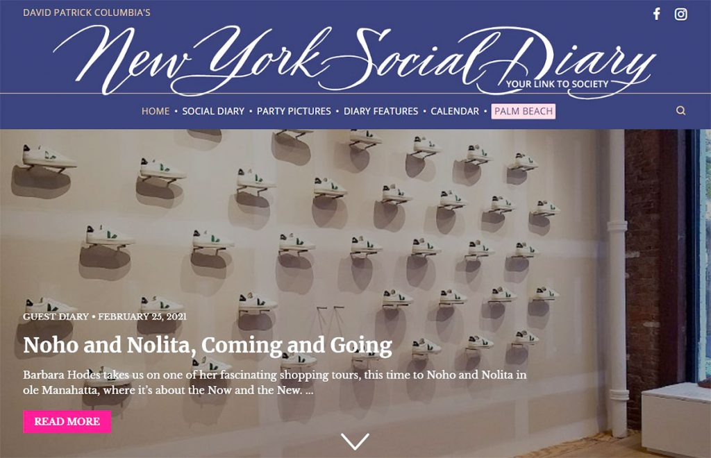 Sneakers in New York Social Diary