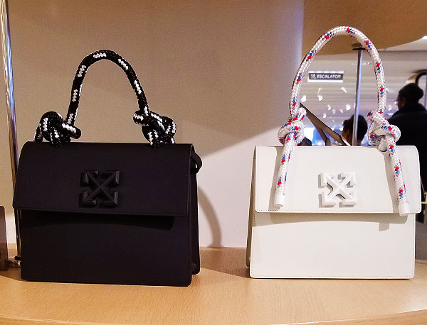 Off-White structured bags