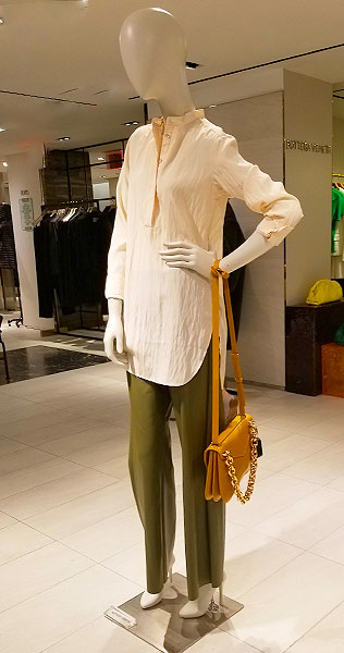 Simple clothing in neutrals