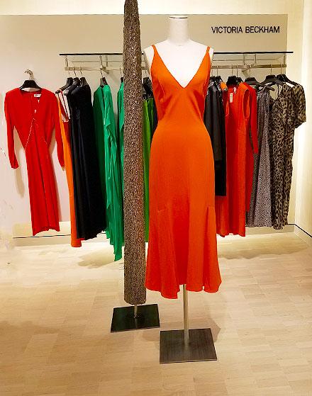 Orange dresses are here