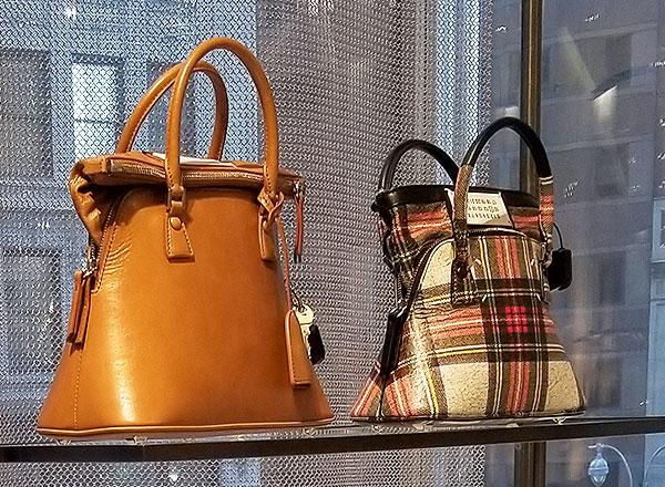 Margiela Bags in NYC