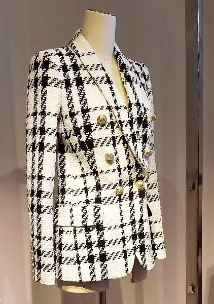 Plaid Check jacket