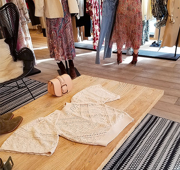 Pointelle knits for spring