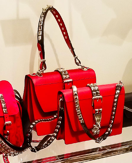 Red Handbags are hot