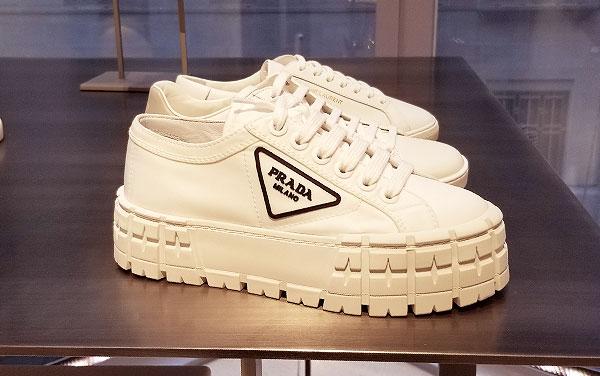 Prada platform kicks